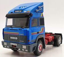 KK Scale1/18 Scale Model Truck RK180072 - 1988 Iveco Turbo Star - Blue