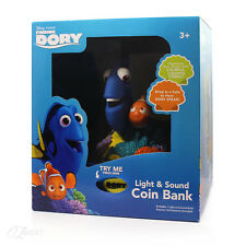New Disney Finding Dory Light & Sound Coin Bank