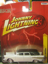 1957 Chevy Hearse ....White colour ...Johnny Lightning