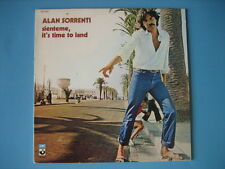 """ALAN SORRENTI """"Sienteme, it's time to land"""" LP ORIGINALE in OTTIME CONDIZIONI"""