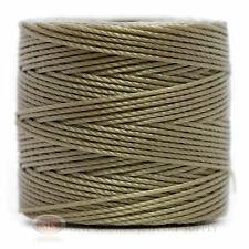 77 Yds. Super-Lon Cord #18 Light Gray Beading Crafting Stringing Crochet