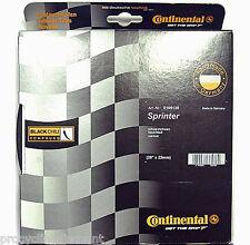"NEW 2018 CONTINENTAL SPRINTER Tubular Road Tire Black Chili: 28"" x 22mm 700c"