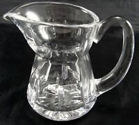 Waterford Crystal Glass Creamer 4-1/8 Inches Tall