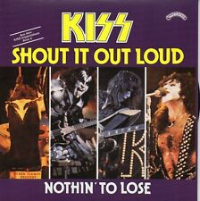 ★☆★ CD Single KISS Shout It Out Loud (Live) 2-track CARD SLEEVE  Nothin' To Lose