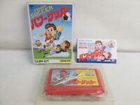 POWER SOCCER Famicom Nintendo Japan Boxed Game bcb fc