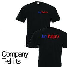 Personalised Company Work Logo Custom printed shirts Uniform workwear POLO Top