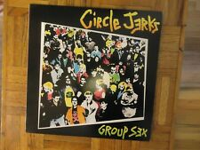 Circle Jerks,Group Sex,Frontier Label,LP