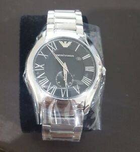 Emporio Armani Men's 43mm Vancouver Stainless Steel Watch Black