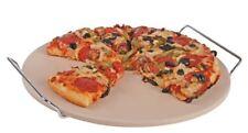Tradizione Italiana by Benzer - Pizza Stone 33cm with Chromed Steel Wire Rack