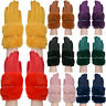 Ladies Gloves Fleece Winter Thermal Fur Quality Warm Soft Cosy Womens Glove
