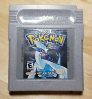POKEMON SILVER GAME BOY COLOR *NEW SAVE BATTERY*  *CLEANED & DETAILED* *TESTED*