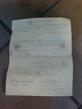 ORIGINAL WWII CAPTURE PAPER FOR GERMAN LUGER AND CAMERA