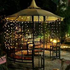 Outdoor String Lights Patio Party Home Yard Garden Wedding Solar LED Bulbs 20ft