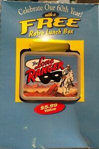Vintage Lone Ranger Cheerios 60th Anniversary Lunch Box