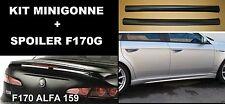 SPOILER  ALFA 159 GREZZO REP LINEA ACCESSORI + MINIGONNE ABS F170G-TR170-FM006-1