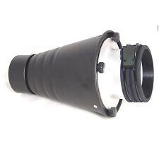 DynaSun SPT-PF Réflecteur Snoot Nez Étroit Conique avec Grille Filtres x Profoto