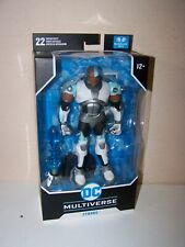 BOOYAH!!! McFarlane Toys DC Multiverse Teen Titans Cyborg Figure