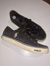 Polo Ralph Lauren Designer Boys Brown Lace Up Shoes Kids UK 3.5 35