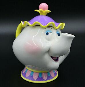 Disney Teekanne Madame Pottine Mrs. Potts mit Spieluhr, Schöne und das Biest
