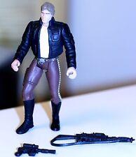 1997 Star Wars POTF Bespin Han Solo Action Figure w/heavy assault rifle/blaster