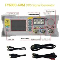 FY6900-60M DDS Signal Functions Generator Counter Arbitrary Waveform 0.01-100MHz