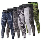 Men Sports Apparel Skin Tights Compression Base Under Layer Workout Long Pants