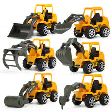 6Pcs/Set Kid Mini Alloy Construction Vehicle Engineering Car Truck Model Toy New