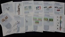 Germany Complete Yearset 2003 First Day Cards, all 47 Sheets from this year