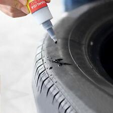 Pegamento de Reparación Neumático Negro poderoso Punción Sellador Para Neumáticos Parche de reparación pegamento coche neumático