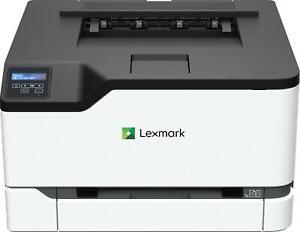 LEXMARK C3224dw Farb-Laserdrucker (A4, Drucker, Duplex, Netzwerk, WLAN, USB)