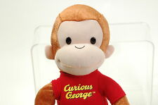 "CURIOUS GEORGE PLUSH DOLL Largen16"" TALL LICENSED MONKEY PLUSH TOY Movie"