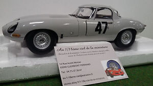 JAGUAR 1963 LIGHTWEIGHT E-TYPE # 47 G. HILL COOMBS 4 WPD 1/18 PARAGON PA - 98341