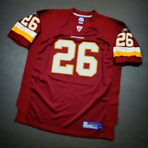 100% Authentic Clinton Portis Reebok Redskins Jersey Size 54 2XL 3XL Mens
