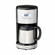 H.Koenig Filterkaffeemaschine programmierbar 1,2 L Warmhaltefunktion Uhr 1000 W