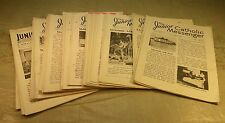 1935 to 1940 Junior Catholic Messenger Booklets interesting History Dayton OH