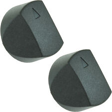 Genuine Schreiber, QA Oven Cooker Hob Control Switch Knobs Black Pack Of 2