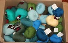 100ct Lot Laine Anny Blatt Solid Colors 100% Pure Wool Yarn 100-195yds 50g New