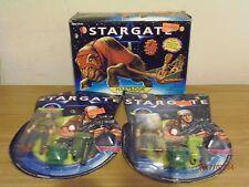 "STARGATE ""2 DANIEL JACKSON & 1 MASTADGE BEAST OF BURDEN"" 1994 MOVIE! LOT 3 TOYS!"