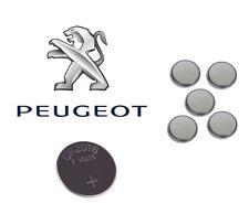 4 x CR2016 Peugeot 307 206 PARTNER 107 406 108 Remote Key Fob Car Alarm Battery