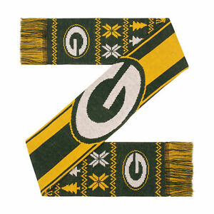 Green Bay Packers Two-Sided Ugly Scarf