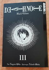 Manga*Death Note*Black Edition*Band 3*Japan*Tokyopop