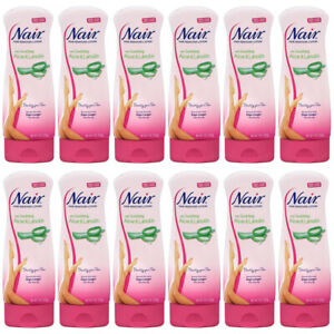 12-New Hair Remover Lotion with Aloe & Lanolin For Legs by Nair for Unisex 9 oz