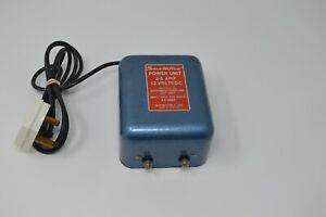 'SMOOTHFLOW'  -  MINIMODELS LTD  12V, 2.5 amp POWER UNIT (TESTED)