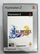 FINAL FANTASY X PLATINUM RELEASE PS2 Playstation 2  PAL VGC