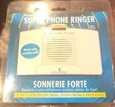 New Ameriphone Sr-200 95dB Super Loud Phone Ringer With Lighted Visual Indicator