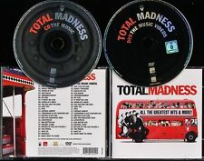 MADNESS - TOTAL MADNESS - GREATEST HITS CD ALBUM + DVD - SUGGS - TWO 2 TONE