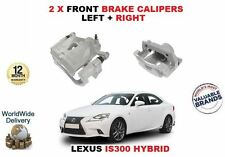 FOR LEXUS IS300 HYBRID 2013-> NEW 2 X FRONT RIGHT+ LEFT SIDE BRAKE CALIPERS