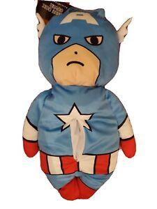 Marvel Captain America Tissue Box Cover Holder Kawaii Cute Plush