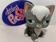 Angora Cat No # - Authentic Littlest Pet Shop - Hasbro Lps