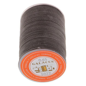 Waxed Thread 0.65mm Polyester Cord For Sewing Stitch Leather Crafts Bracelet